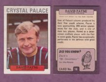 Crystal Palace David Payne 16
